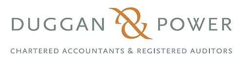 Image of Duggan & Power chartered accountants & registered auditors logo on a white background